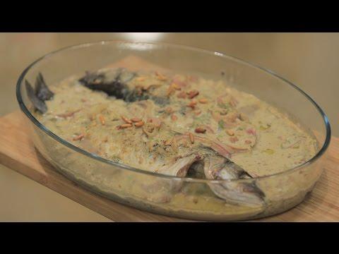 طريقة اعداد ومقادير سمكة حارة لبنانية
