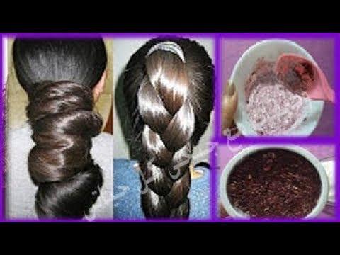 وصفة تساعد في نمو الشعر