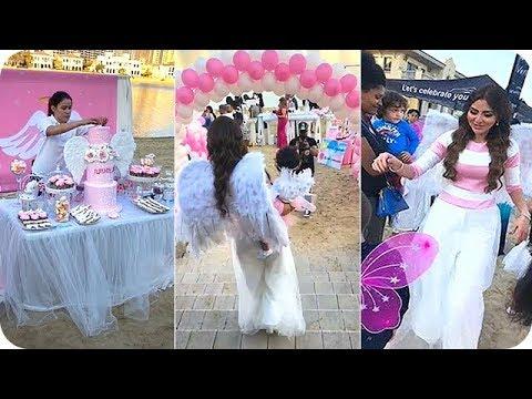 مريم حسين تنظم حفلًا أسطوريًا لأبنتها الأميرة