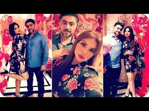 شاهد زوج الفنانة مها محمد يفاجئها في عيد الحب