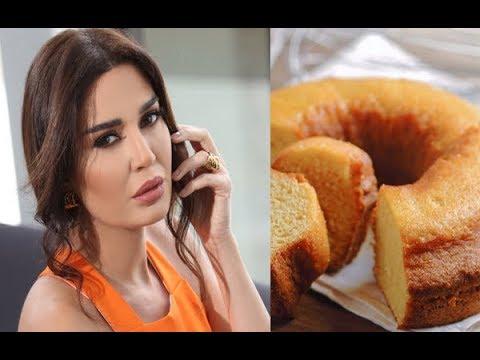 شاهد وصفة سيرين عبد النور لتحضير كعكة البرتقال