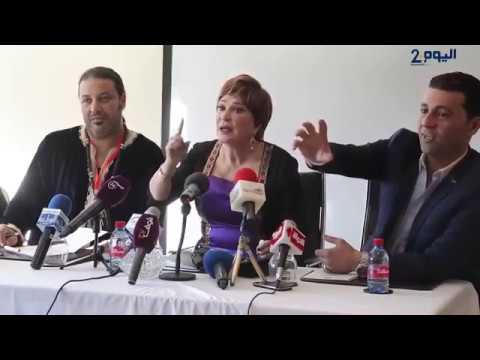 لايف ستايلشاهد مشادة بين لبلبة وصحافية مغربية