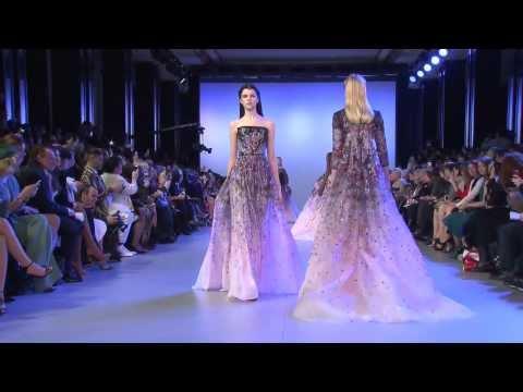 لايف ستايلشاهد عرض أزياء المصمم إيلي صعب في haute couture