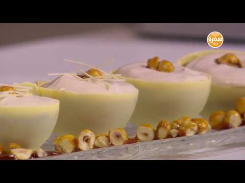 لايف ستايلطريقة إعداد كابوتشينو الشوكولاتة وشو الفراولة