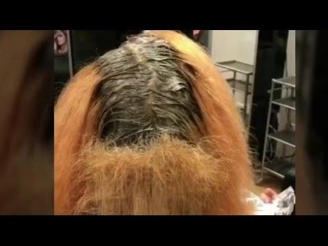 بالفيديو: رجل مذهل يضع المكياج ويكوي شعره مثل النساء