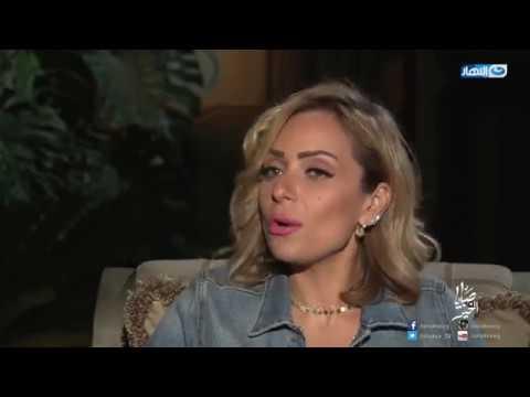بالفيديو : ريم البارودي تعلن الموعد الحقيقي لطلاقها من أحمد سعد