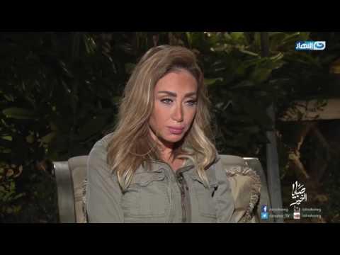 بالفيديو : ريم البارودي تكشف عن مفاجأة في علاقة سمية الخشاب بأحمد سعد