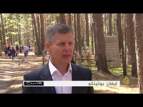 لايف ستايلشاهد افتتاح حديقة للمنحوتات الخشبية في سيبيريا