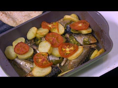 شاهد: طريقة إعداد صينية سمك