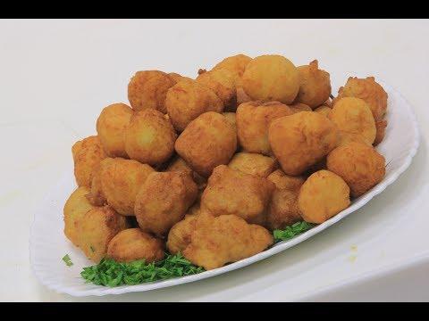 شاهد: طريقة إعداد كرات البطاطس المقلية