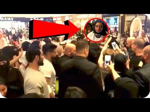 شاهد: حليمة بولند توقف التصوير مع جمهورها بسبب امرأة من الصم والبكم