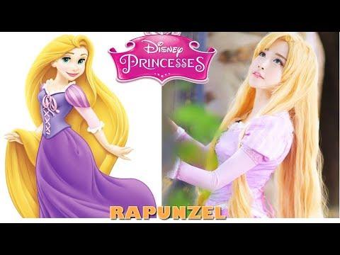 شاهد فتيات حقيقيات يشبهن أميرات ديزني طبق الأصل