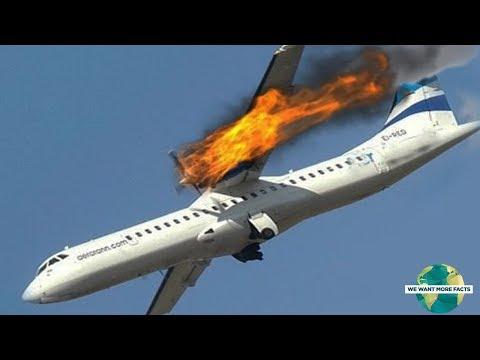 شاهد: أغرب 10 حوادث سقوط وتحطّم طائرات