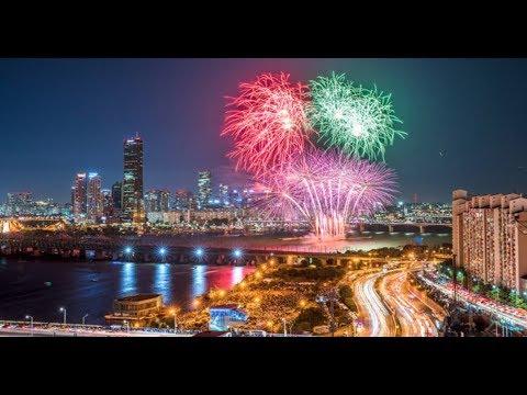 شاهد احتفالات كوريا الجنوبية بالسنة الجديدة
