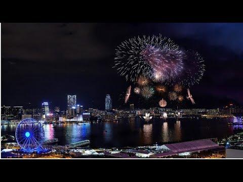 شاهد احتفالات هونغ كونغ بالسنة الجديدة