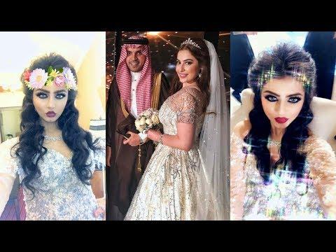 شاهد نيرمين محسن تخطف الانظار في حفل زواج رؤى الصبان وحمود الفايز