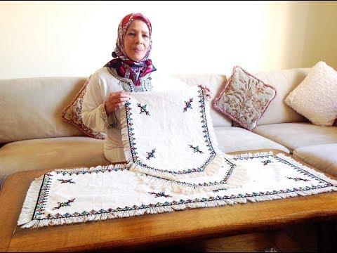 تعلمي الطرز المغربي باليد مع ربيعة