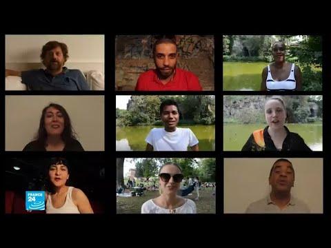 شاهد: انطلاق فعاليات مهرجان الفن المعاصر التونسي في باريس