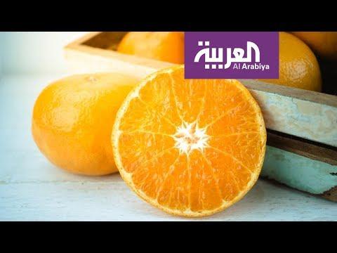 شاهد: البرتقال مضر للمصابين بالبرد والزكام