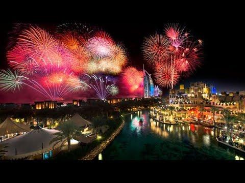 شاهد احتفالات رأس السنة من برج خليفة في دبي 2019