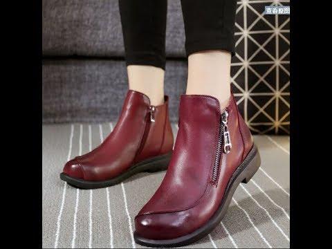 شاهد: أحذية خروج روعة للبنات خلال الشتاء