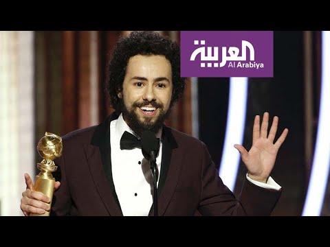 شاهد مصري يفوز بجائزة غولدن غلوب كـأفضل ممثل