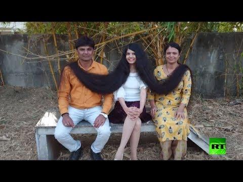 شاهد: تعرف على صاحبة أطول شعر في العالم