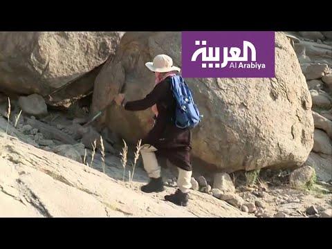 شاهد: السعودية سوسن عبد الله تتحدى الإعاقة بقمم الجبال