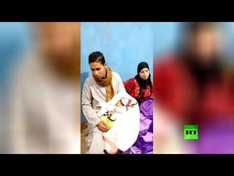 شاهد: ياسمين رمضان ربيع المولود رقم 100 مليون في مصر