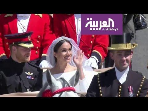 شاهد الأمير هاري وميغان يودِّعان رسميًا حياة الملوك
