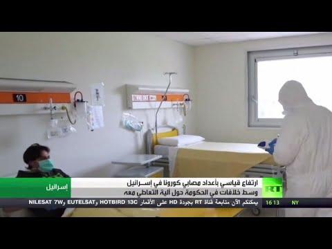 شاهد: إسرائيل تُسجل قفزة قياسية في عدد الإصابات المسجلة بـ