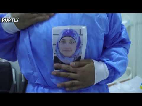 شاهد ممرضة عراقية تقود معركة ضد جائحة كورونا