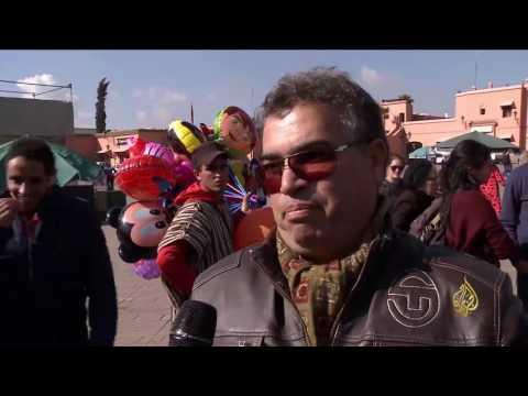 بالفيديو : جولة في ساحة جامع الفناء في مراكش