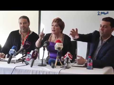 شاهد: مشادة بين لبلبة وصحافية مغربية