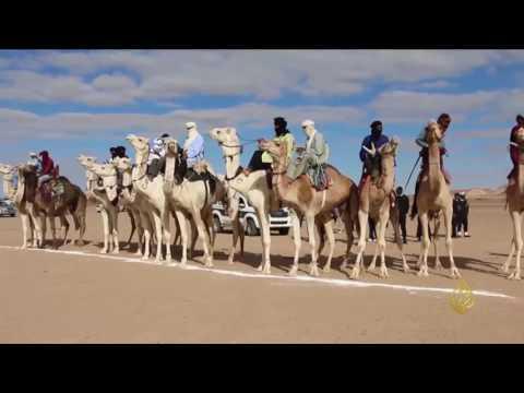 جولة في مدينة غات الليبية