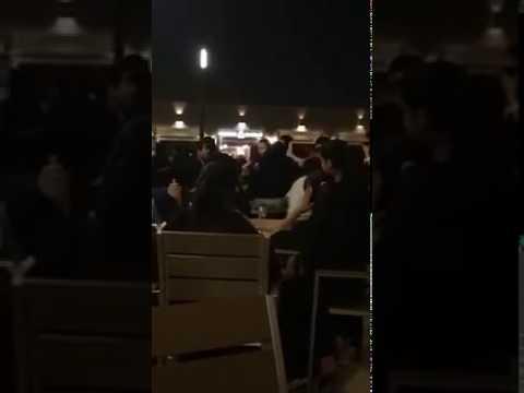 مشاجرة عنيفة بين مجموعة فتيات في منتزه جدة