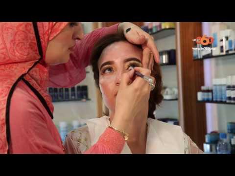 لايف ستايلشاهد خطوات ماكياج العروس ليلة زفافها في المغرب
