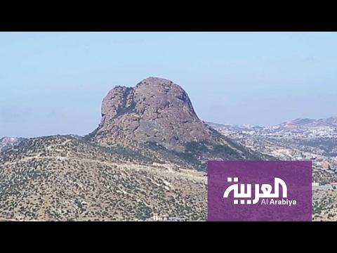 شاهد: جولة على جبل حرفة في النماص