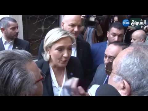 لايف ستايلبالفيديو  مارين لوبان تغادر دار الإفتاء اللبنانية رفضًا لارتداء الخمار