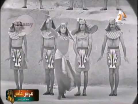 أشهر راقصة باليه مصرية تقدم عرضًا فرعونيًا
