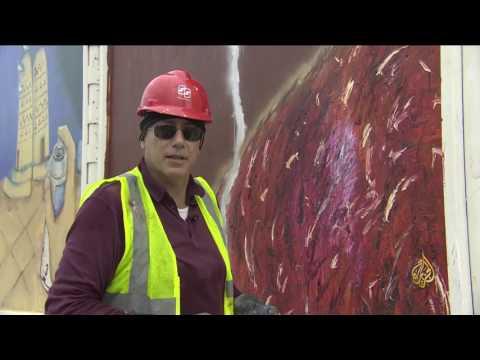 بالفيديو: تدشين مشروع جداريات كتارا في قطر