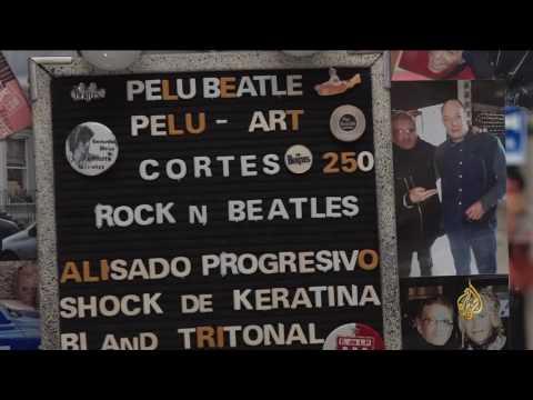 بالفيديو: صالون حلاقة فريد من نوعه في العاصمة الأرجنتينية