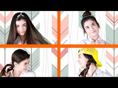 شاهد: 4 تسريحات شعر للمرأة سهلة في صنعها