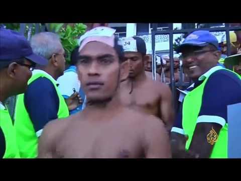 انطلاق مهرجان السباحة المفتوحة في سريلانكا