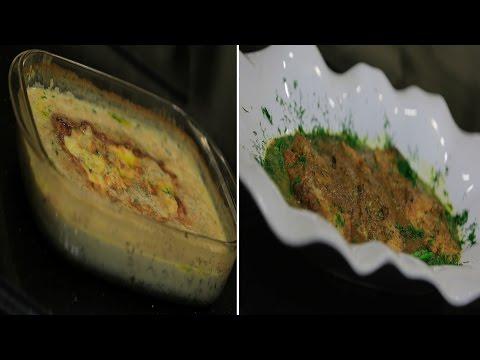طريقة إعداد سمك بصوص الكاري وفلفل محشي